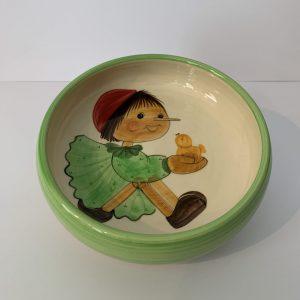 Schwendener – Kinderteller Hellgrün Pinocchio