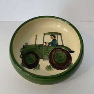 Schwendener – Kinderteller Grün Traktor