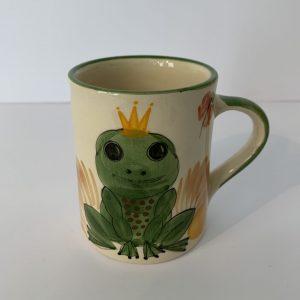 Schwendener – Kindertasse Grün Froschkönig