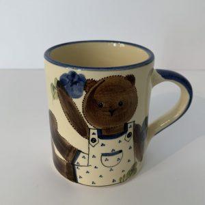 Schwendener – Kindertasse Blau Bär
