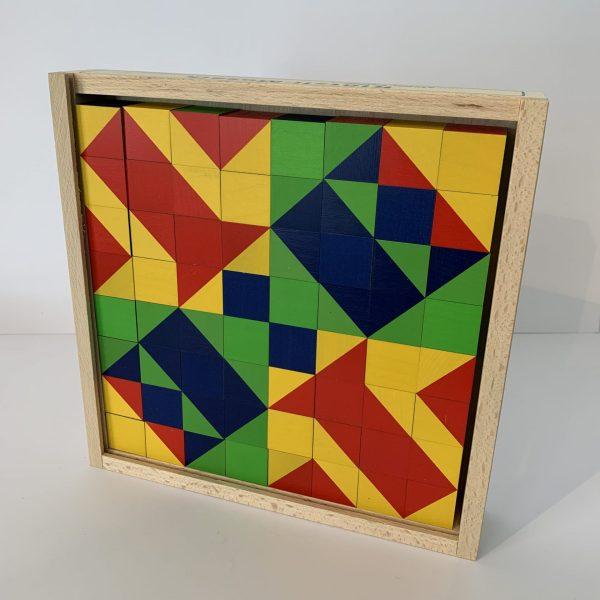 Atelier Fischer – Klötzlimosaik, 64 Klötzli