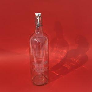 """Glasart – Flasche """"Aarauer Wasser"""" 1L"""