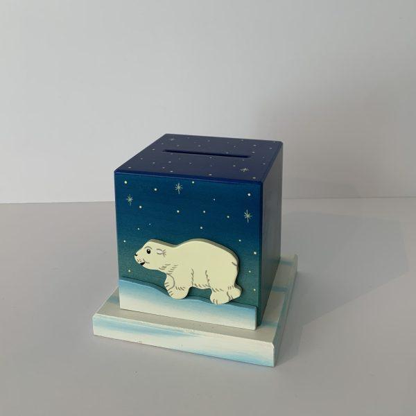 Weizenkorn – Sparkässeli Eisbär