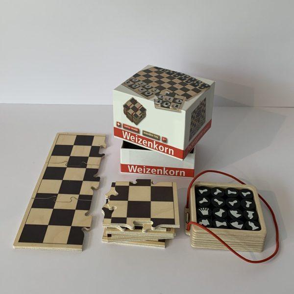 Weizenkorn – Pocketgame Schach