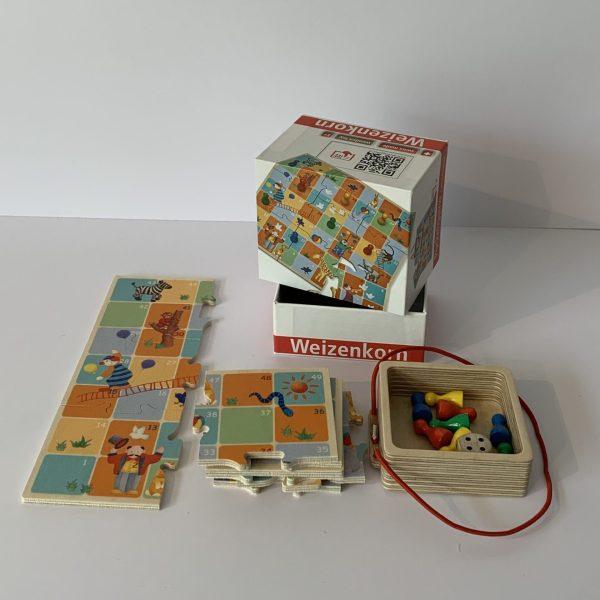 Weizenkorn – Pocketgame Leiterlispiel