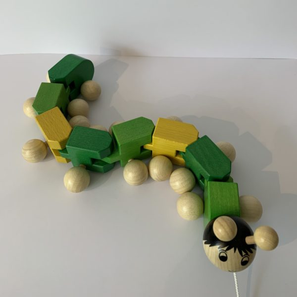 Weizenkorn – Tatzelwurm grün