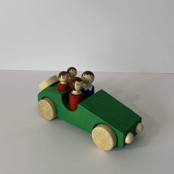 Weizenkorn – Familienwagen grün