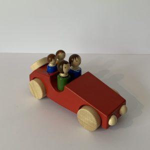 Weizenkorn – Familienwagen rot