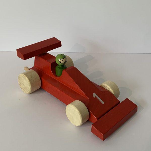 Weizenkorn – Rennwagen rot