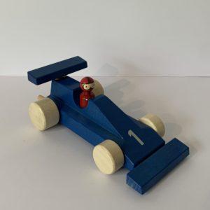 Weizenkorn – Rennwagen blau