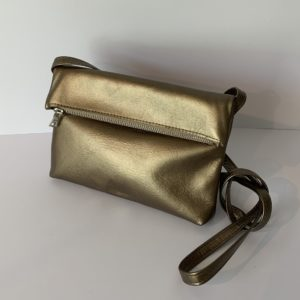 Bubble – Handtasche mini bronze