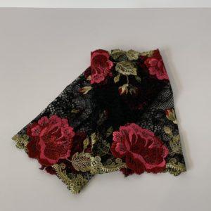 Henggeler – Pulswärmer schwarz – grün/rot