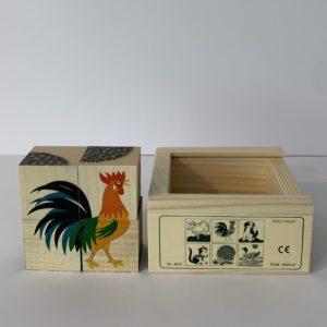 Atelier Fischer – Klötzlipuzzle Haustiere