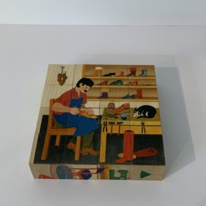 Atelier Fischer – Klötzlipuzzle Berufe