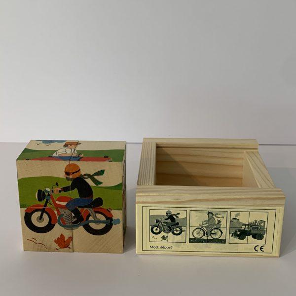 Atelier Fischer – Klötzlipuzzle Fahrzeuge
