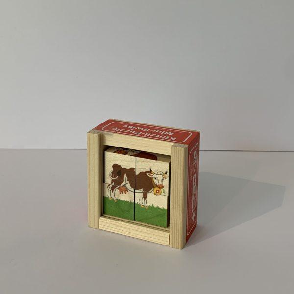 Atelier Fischer – Klötzlipuzzle Mini Swiss