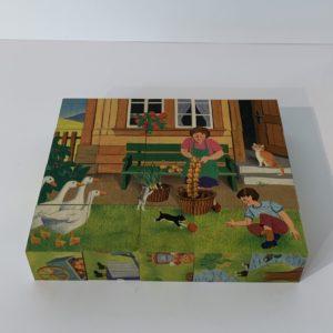 Atelier Fischer – Klötzlipuzzle Bauernhof