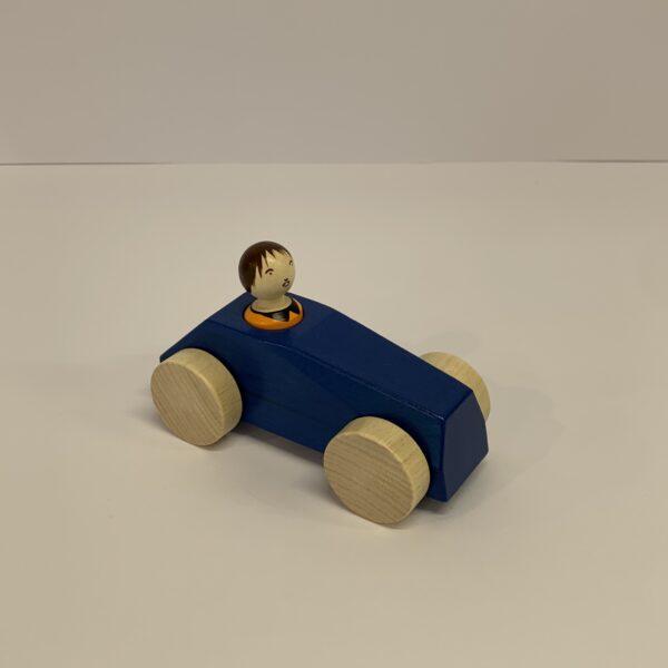 Weizenkorn – Auto blau