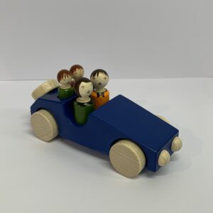 Weizenkorn – Familienwagen blau